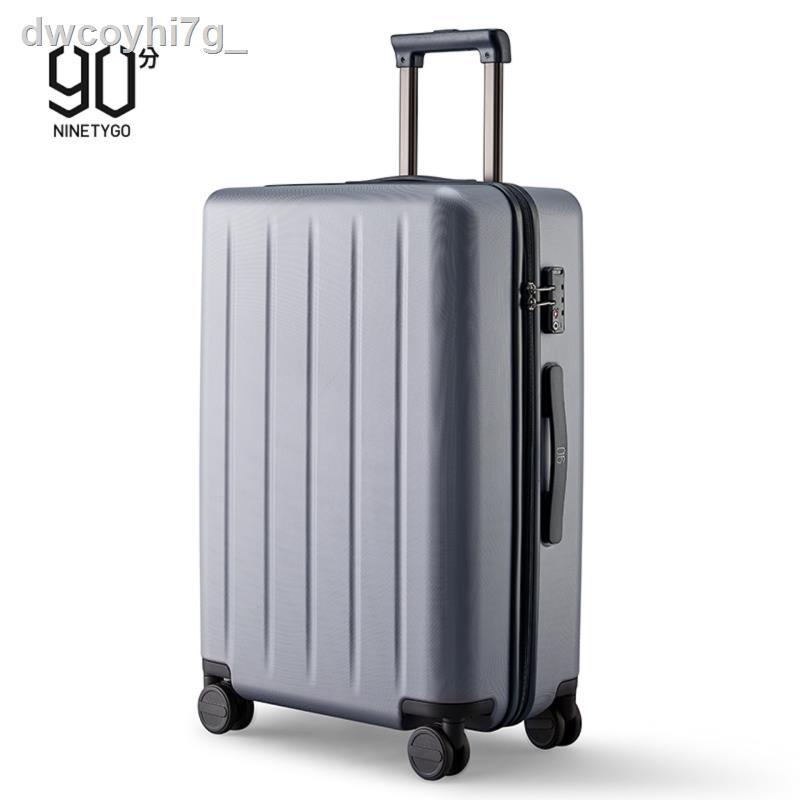 กระโปรงหลังรถ✶กระเป๋าเดินทางใบข้าวฟ่าง 90 จุด, กระเป๋ารถเข็นขนาดเล็ก, กระเป๋าขึ้นเครื่องสำหรับ ผู้ชายและผู้หญิง ล้อสากล