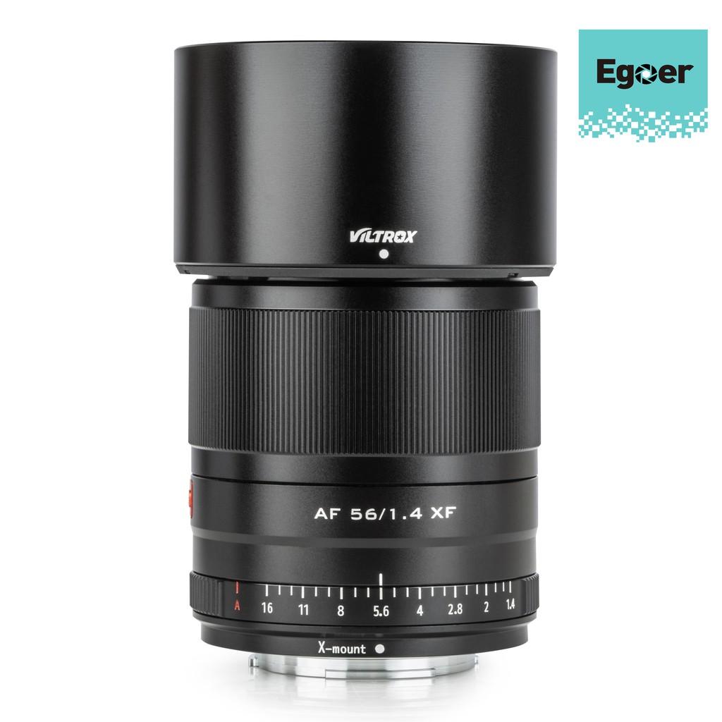 Viltrox 56mm F1.4 STM เลนส์ออโต้โฟกัส Fuji X-Mount Mirrorless cameras X-Pro3 X-T2 X-T3 X-T4 X-T20 XT-30 WBXH
