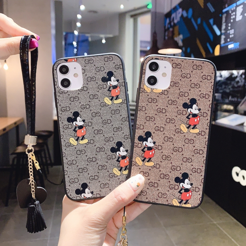 Cute Samsung Note8 Note9 Note10 Note10pro A6 A6plus A8 A8plus A7 2018 A9 2018 Cartoon Phone Case SAMSUNG Cover