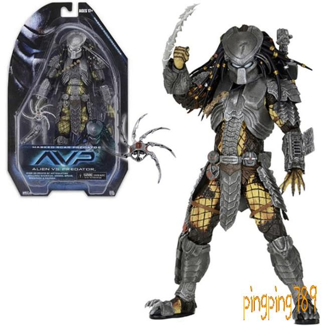 Neca Elder Predator 18CM Scale Action Figure Movable Toy Collection