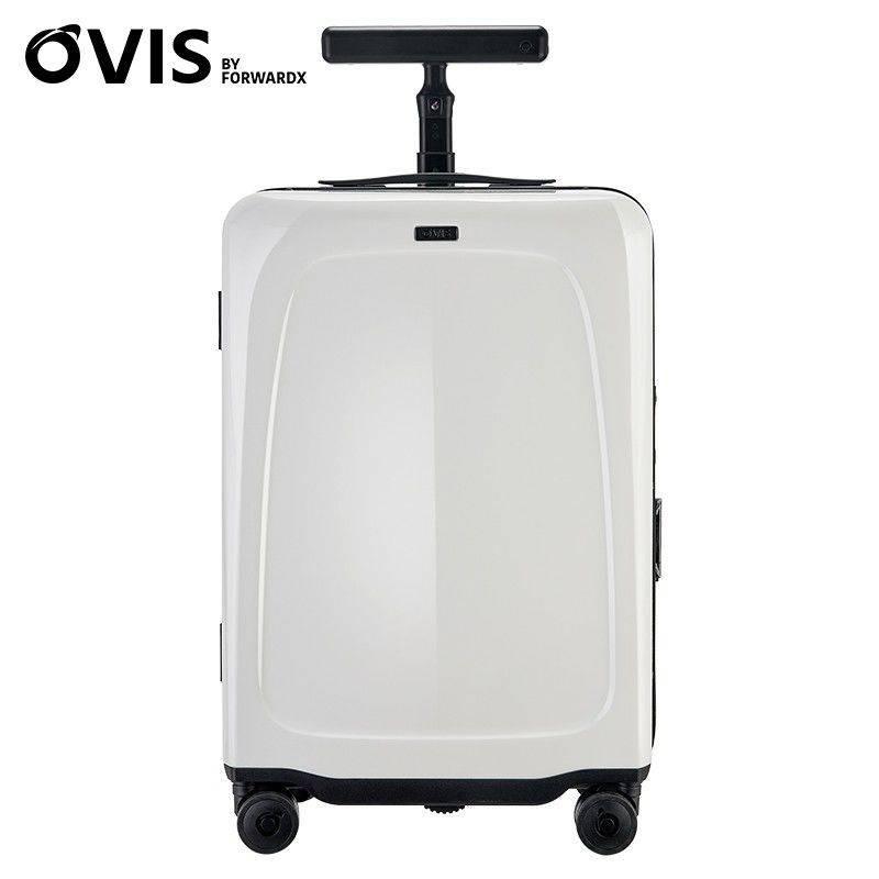 จุดเทคโนโลยีสมาร์ทด้านวิสัยทัศน์ OVIS สมาร์ทโดยอัตโนมัติตามกระเป๋าเดินทางจากระยะไกลสามารถถ่ายภาพกระเป๋าเดินทาง