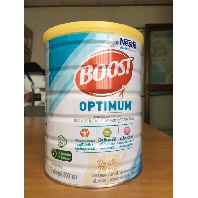 Exp 02/23 Boost optimum 800g บูสท์ ออปติมัม อาหารเสริมทางการแพทย์