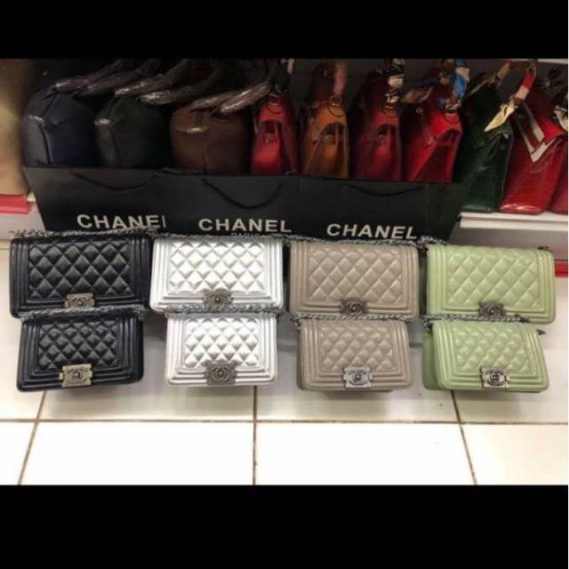 กระเป๋าหนัง Chanel boy