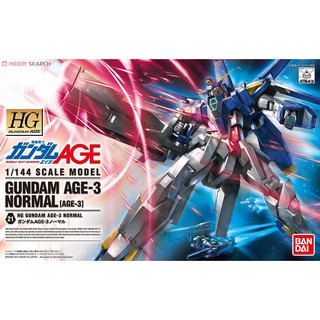 Review HG AGE-3 Gundam AGE-3 Normal