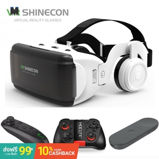 (In Stock)VR SHINECON G06E Mini VR Glasses 3D G 06E Glasses Virtual Reality Glasses VR Headset For Google cardboard with