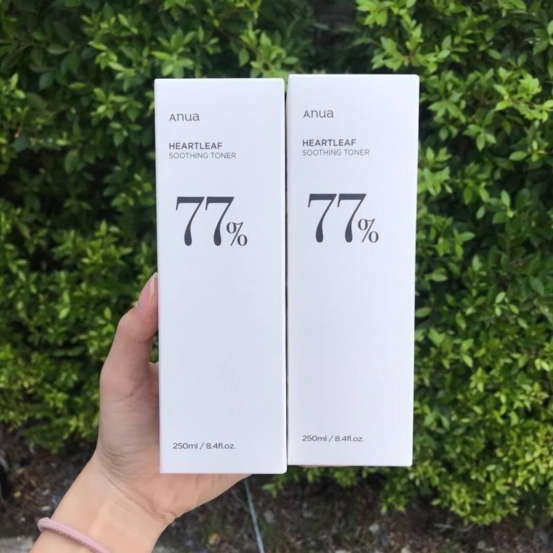 โทนเนอร์Anua heartleaf 77% soothing toner 250ml.