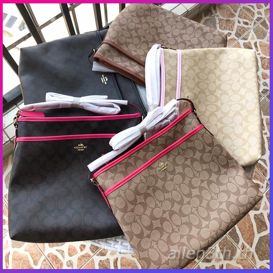 กระเป๋าผู้หญิง Coach แท้ F34938 shoulder bag / กระเป๋าสะพาย / กระเป๋าสะพายข้างผู้หญิง / crossbody bag / กระเป๋า forever young