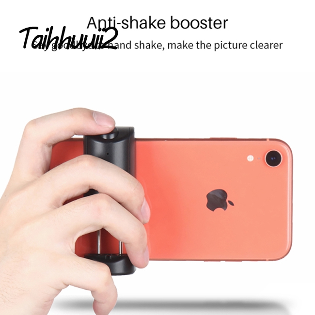 Smartphone Selfie Booster Handle Grip Bluetooth Photo Stablizer Holder with Shutter Relese 1//4 Screw Phone Stand