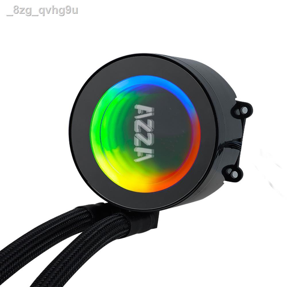 🔥รุ่นขายดี🔥ขายเฉพาะจุด🔥❄❀✖AZZA Blizzard ARGB CPU Liquid Cooler LCAZ 120R