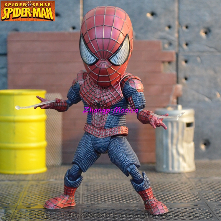 18CM New Fashion The Amazing Spiderman PVC Action Figure Collection Model Toy Ch