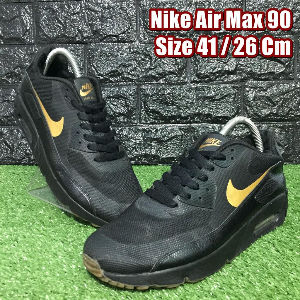 Nike Air Max 90 รองเท้าผ้าใบมือสอง Size 41 / 26 Cm