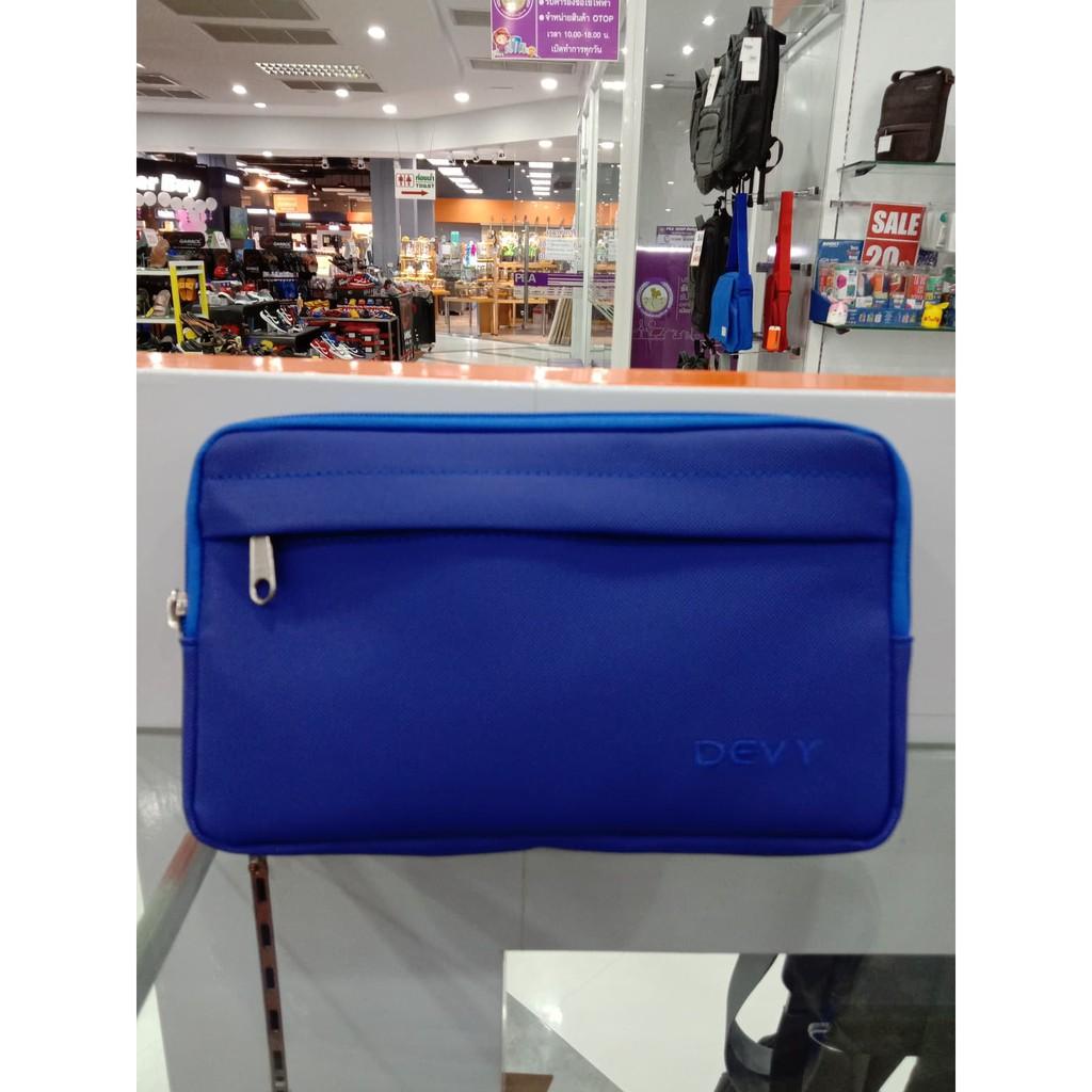 กระเป๋าคาดเอว Devyสีน้ำเงิน