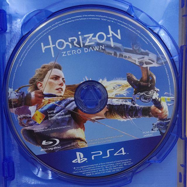 (มือสอง) มือ2 เกม ps4 : Horizon Zero Dawn โซน3 ปกรวม แผ่นสวย