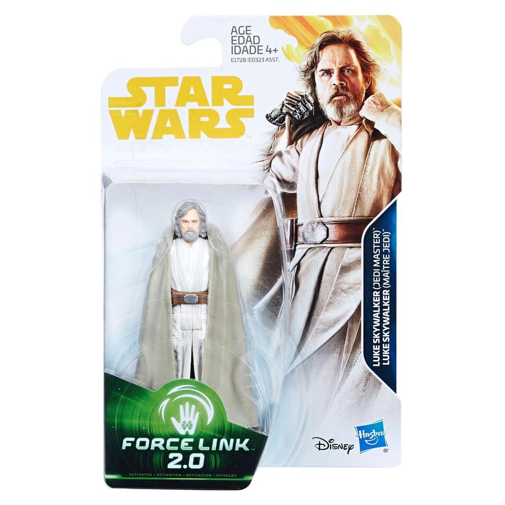 Star Wars Force Link EP8 The Black Series Luke Skywalker 6 Inch Figure