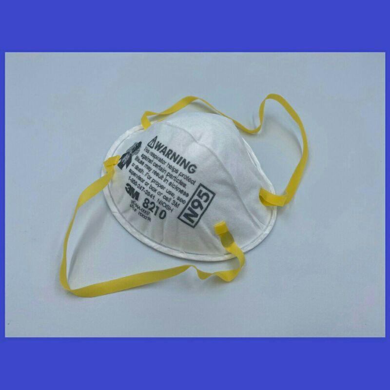 8210 3M™ 8210 หน้ากากป้องกันฝุ่น ละออง ฟูมโลหะ, N95
