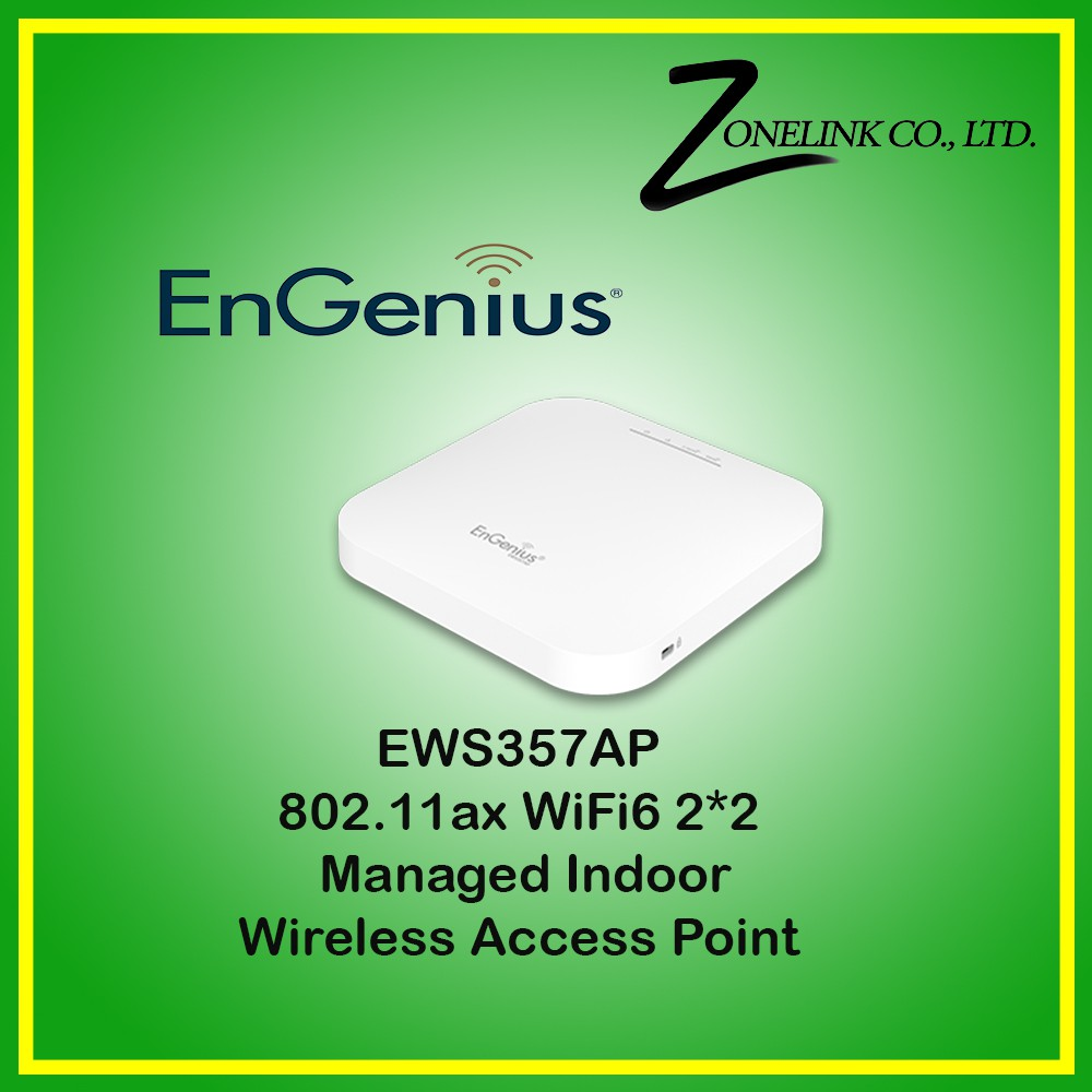 EWS357AP 802.11ax WiFi 6 2×2 Managed Indoor Wireless Access Point