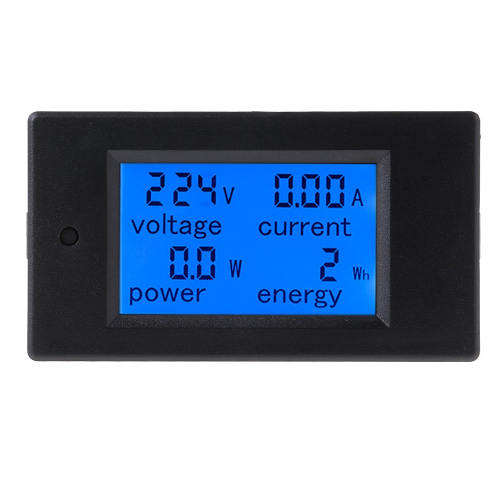 DM55-1 LCD AC Digital Voltage Meter Voltmeter Monitor Backlight AC100-300V Switc