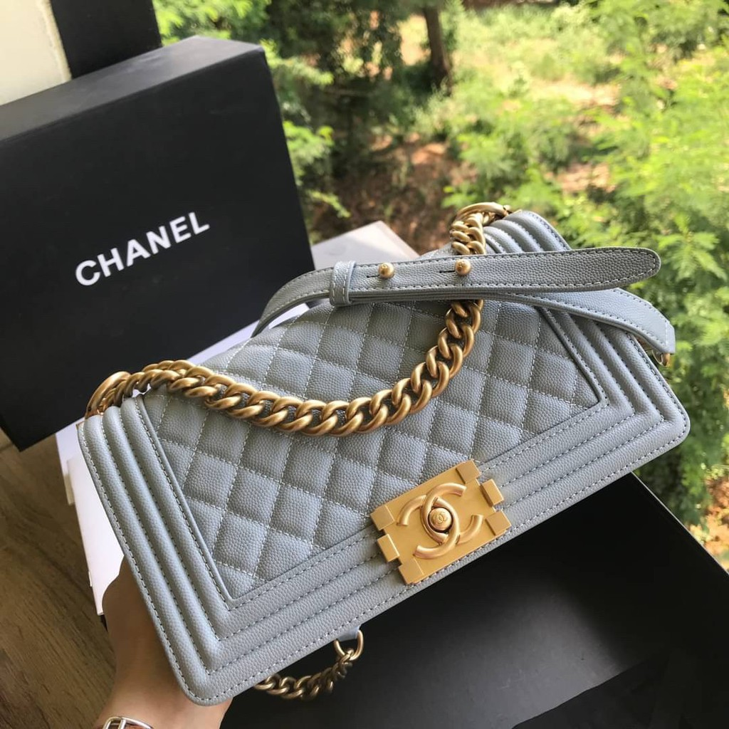 "Chanel Boy 10"" Grade vip size 25cm full box set"