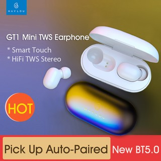 Review Xiaomi haylou GT 1 Mini TWS หูฟังไร้สาย BT 5.0 AAC Earbuds Handsfree