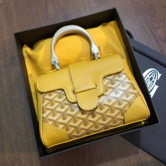 GOYARD MINI SAIGON BAG