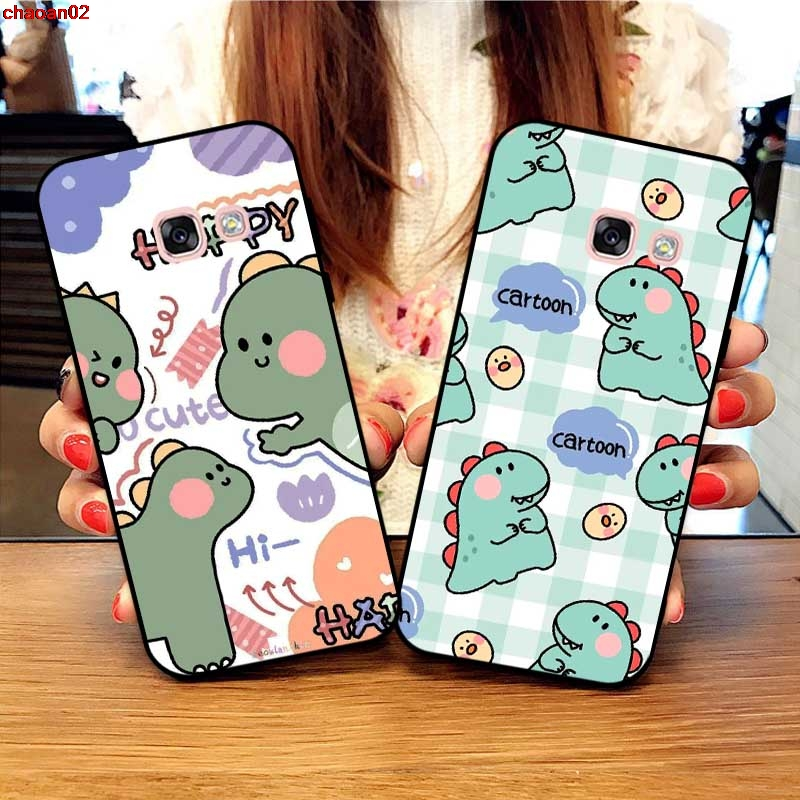 Samsung A3 A5 A6 A7 A8 A9 Pro Star Plus 2015 2016 2017 2018 HKLLY Pattern-5 Silicon Case Cover