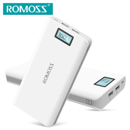 พาวเวอร์แบงค์ Romoss Sense 6 Plus 20000 mAh Power Bank