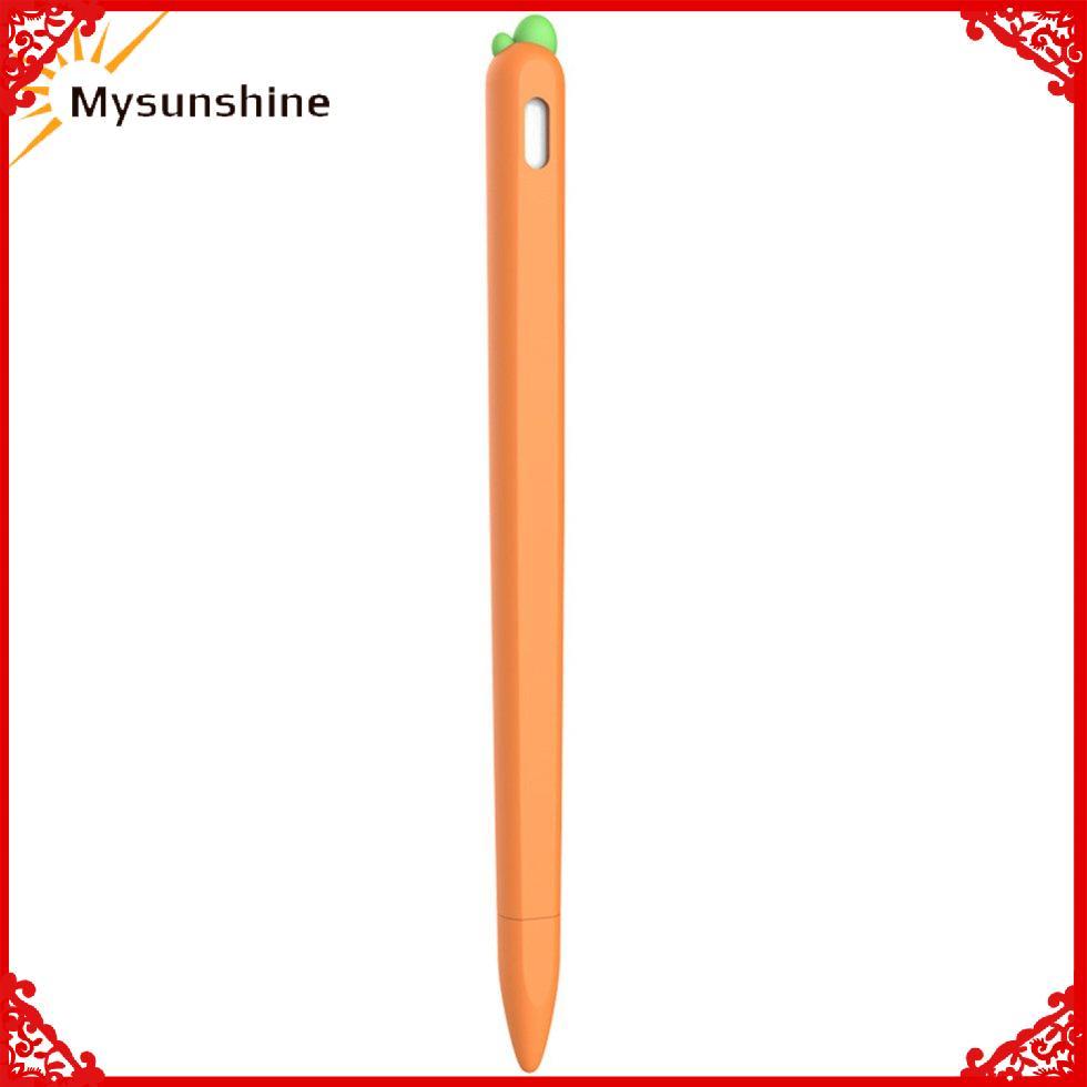 เคสซิลิโคนสําหรับ Apple Pencil 2nd Case Touch Stylus เคสป้องกัน