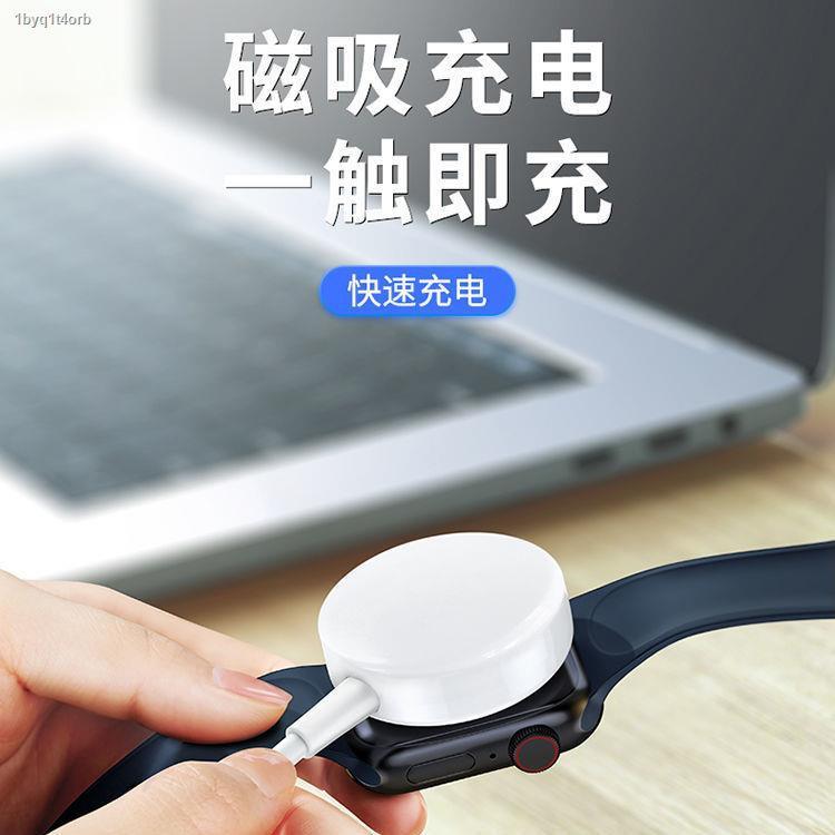 เครื่องชาร์จนาฬิกา♂۞❦Pisen iwatch wireless charger นาฬิกาโทรศัพท์มือถือ two-in-one series5 พร้อม Applewatch แบบแม่เหล็
