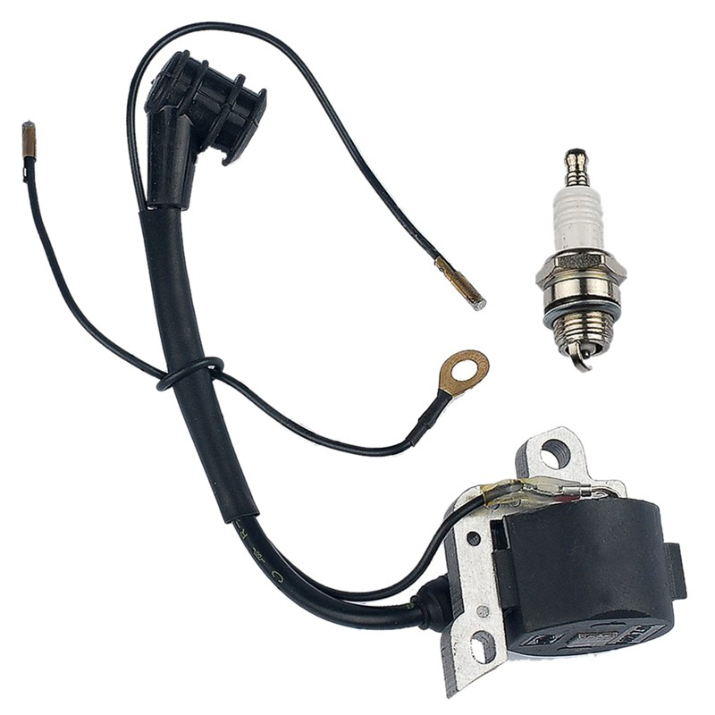 Ignition Coil With Spark-Plug For Stihl 024 026 028 029 034 036 038 039 044 048 Ms240  Chainsaw cFxz