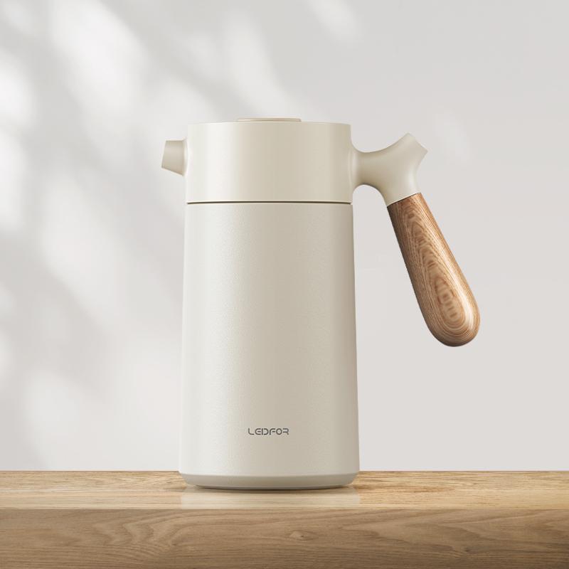 =がหม้อต้มกาแฟเครื่องชงกาแฟมือRedf หม้อกาแฟทำมือฉนวนฝรั่งเศสกระติกน้ำร้อนแบบกดกระติกน้ำร้อนในครัวเรือนขนาดเล็กอิตาลี Moka
