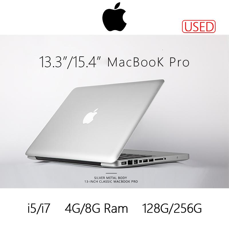 Apple Macbook pro คอมพิวเตอร์มือ2 โน๊ตบุ๊คมือ ราคาถูกๆ โน๊ตบุ๊คมือสอง Notebook intel i5/i7 โน๊ตบุ๊คมือสอง มือสองสภาพดี!