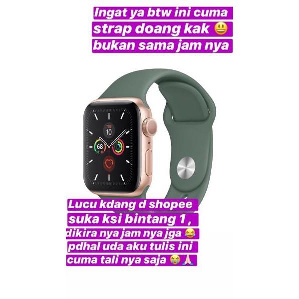 ขายดี!!!. ใหม่ 8 สี!! Grade A + สายคล้องนาฬิกาข้อมือ Applewatch (Series 1-4 Ready Yes)