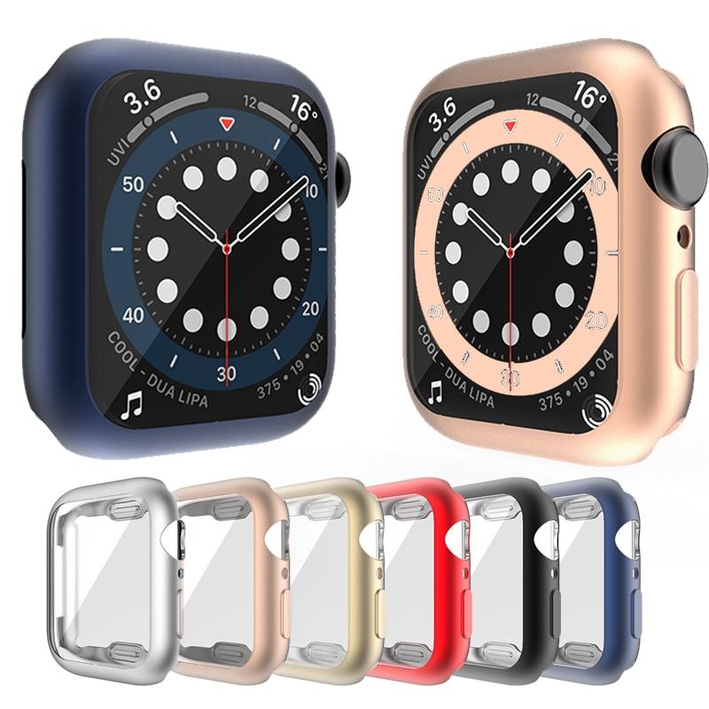 เคสนาฬิกาข้อมือ Tpu กันกระแทกสําหรับ Apple Watch Series 6 Se 5 4 3 2 1 Case 42 มม. 38 ม. สําหรับ Iwatch 6 5 4 40mm 44mm