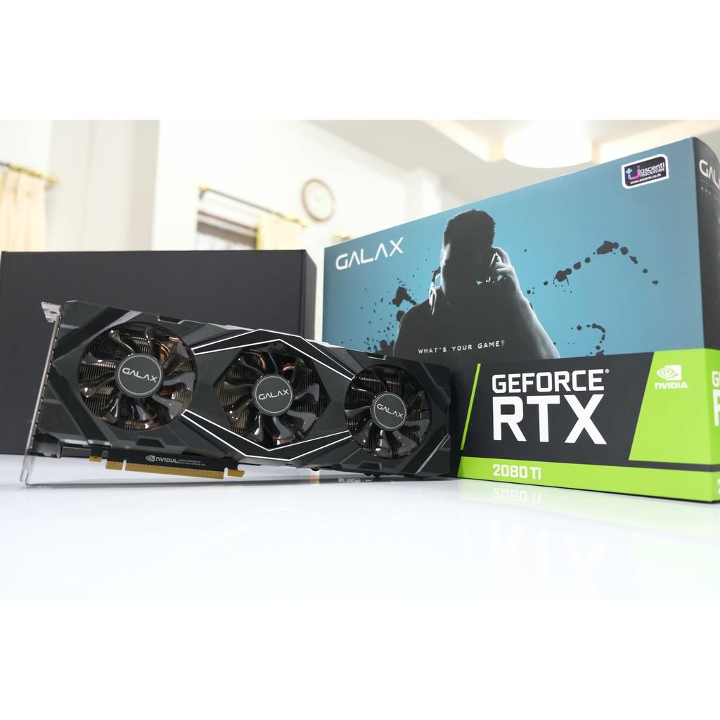 GALAX GeForce® RTX 2080Ti SG (1-Click OC) V2 11GB GDDR6 (มือสอง)
