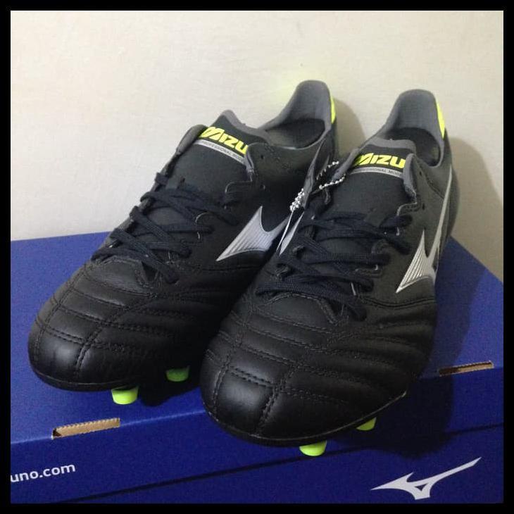 รองเท้าผ้าใบ Mizuno Morelia Neo Ii Md สีดําสีเงิน P1ga195303