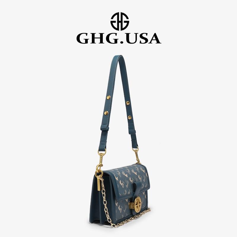 ❏⅟ กระเป๋ากระเป๋าเดินทาง Ghg แบรนด์หรูเบาๆในประเทศรถม้าอินเทรนด์กระเป๋าใบเล็กผู้หญิง2021ใหม่อินเทรนด์กระเป๋าสะพายใต้วงแข