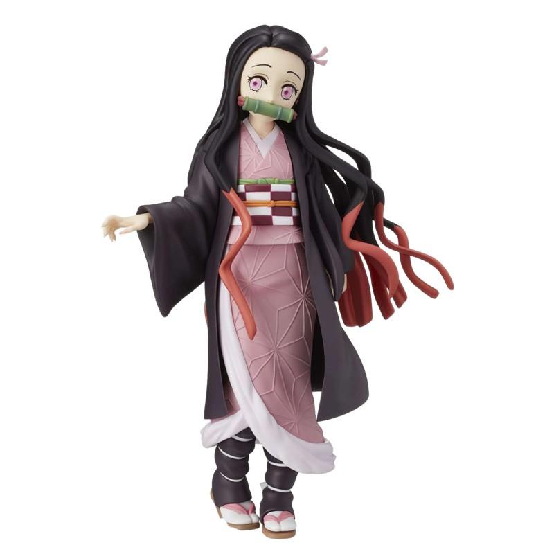 รูป:resale Demon Slayer Blade  Tanjirou Nezuko Figure Colletible Model Toys Jaanese Anime Figure model Ornaments Anime t