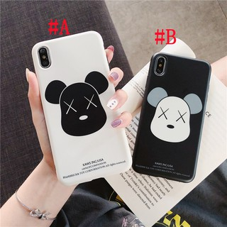 Review เคสไอโฟน iPhone X XS Max XR iPhone 11 Pro Max 7 8 Plus 6 6S Plus Cartoon Gloomy Bear Matte Soft Case