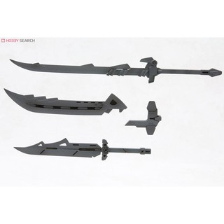 Review Kotobukiya Weapon Unit MW14 Samurai Sword 2