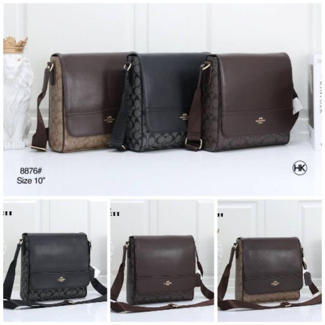 พร้อมส่ง #Coach Messenger Bag#กระเป๋าสะพายผู้ชาย coach #กระเป๋าสะพายข้างผู้ชาย coach กระเป๋าแฟชั่น