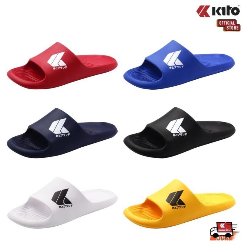 Kito รุ่นah91 แท้?%unisex รองเท้าแตะสวม ไซส์36-43.