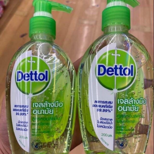 เจลล้างมือ Dettol 200 มล.