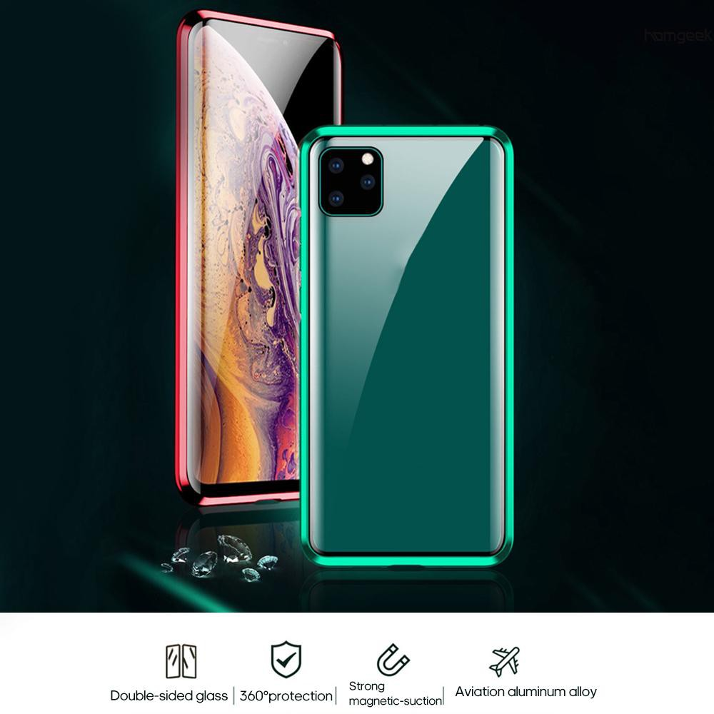 gek เคสโทรศัพท์มือถือแบบสองด้านสําหรับ iphone 11/pro/max