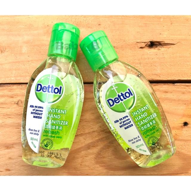 Dettol เจลล้างมือ เดทตอล 50ml.