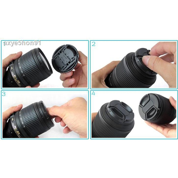 ●♦Sigma / 56mm F1.4 Half-frame Large Aperture Micro Single Portrait Lens ฝาปิดเลนส์ Sony