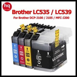 Brother LC539 BK LC535XL ink cartridge brother LC549XL 545XL ink DCP-J100 J105 all-in-one MFC-J200 color inkjet printer