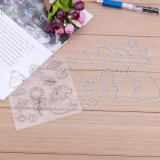 6pcs cat metal cutting dies stencil scrapbook paper cards craft embossing KRI