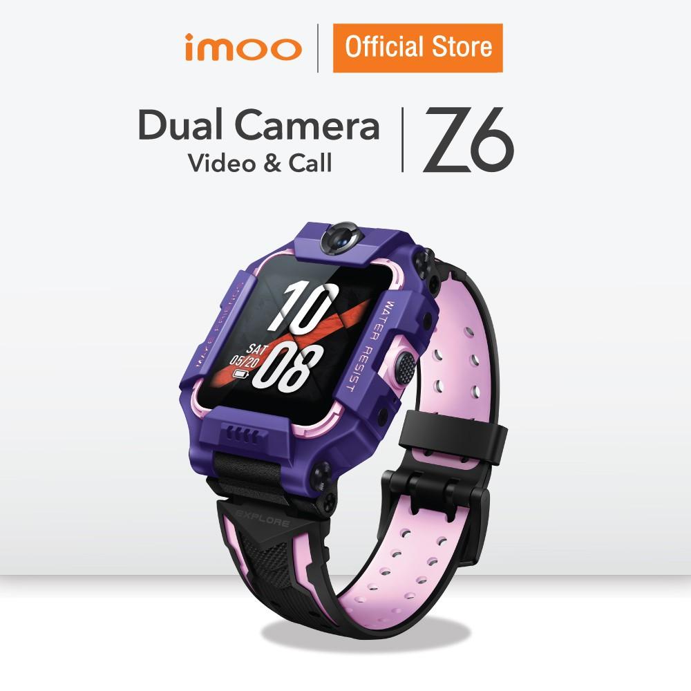 ลดราคา imoo Watch Phone Z6 นาฬิกาไอโม่ ระบุตำแหน่ง วิดีโอคอล กล้องหน้า-หลัง  4G ติดตามตัวเด็ก ประกัน 1 ปี