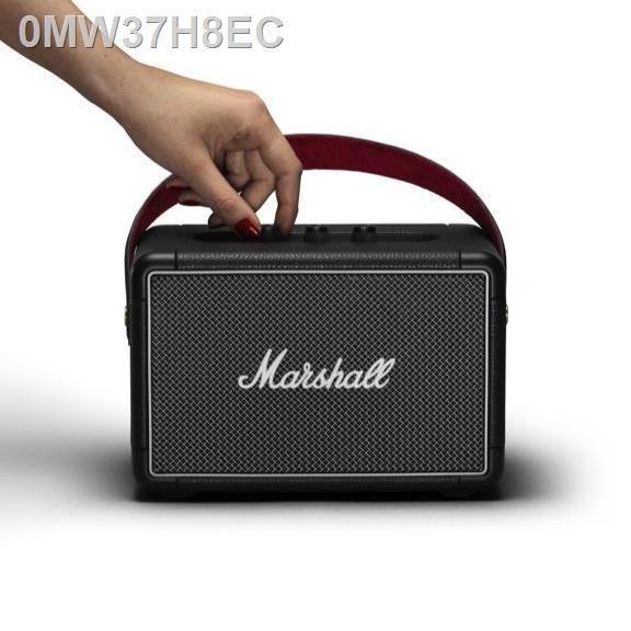🔥รุ่นขายดี🔥ขายเฉพาะจุด🔥☸❏ลำโพงบลูทู ธ Marshall Kilburn II Bluetooth สีดำ - ชั้น 1 ปี + ส่งฟรีทั่วไทย (ลำโพงบลูทู , ล