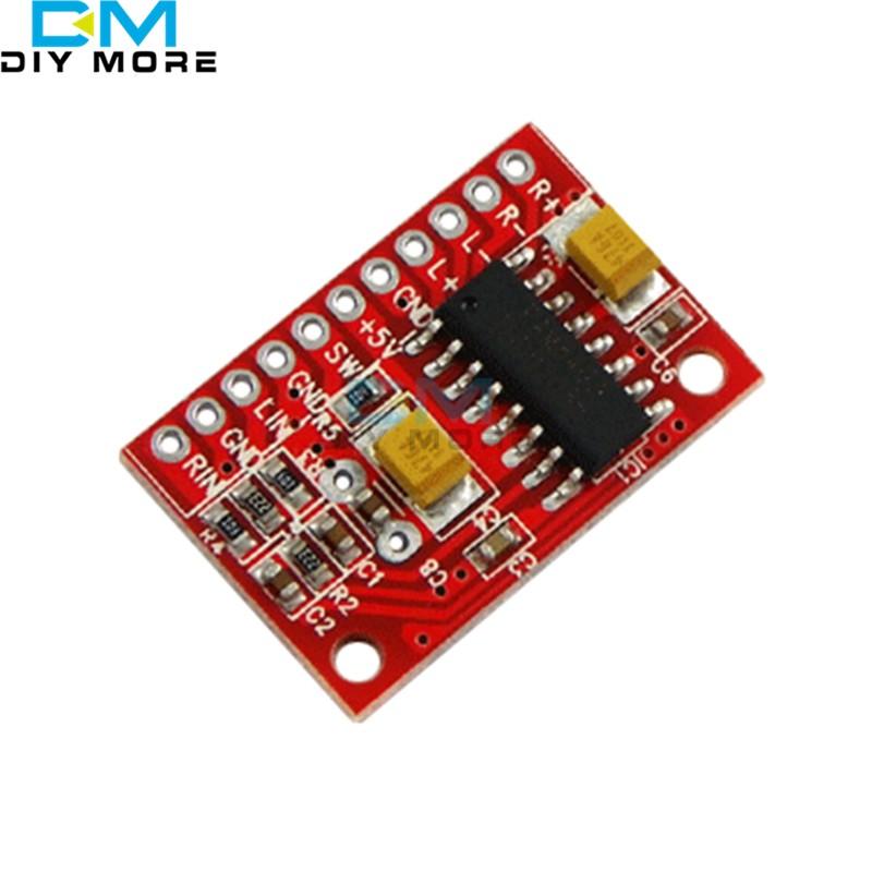 Hot Deal 3W*2 Mini Digital power Audio Amplifier Board USB AMP